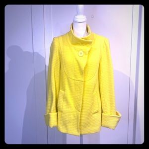 Kenra  bright yellow Swing coat